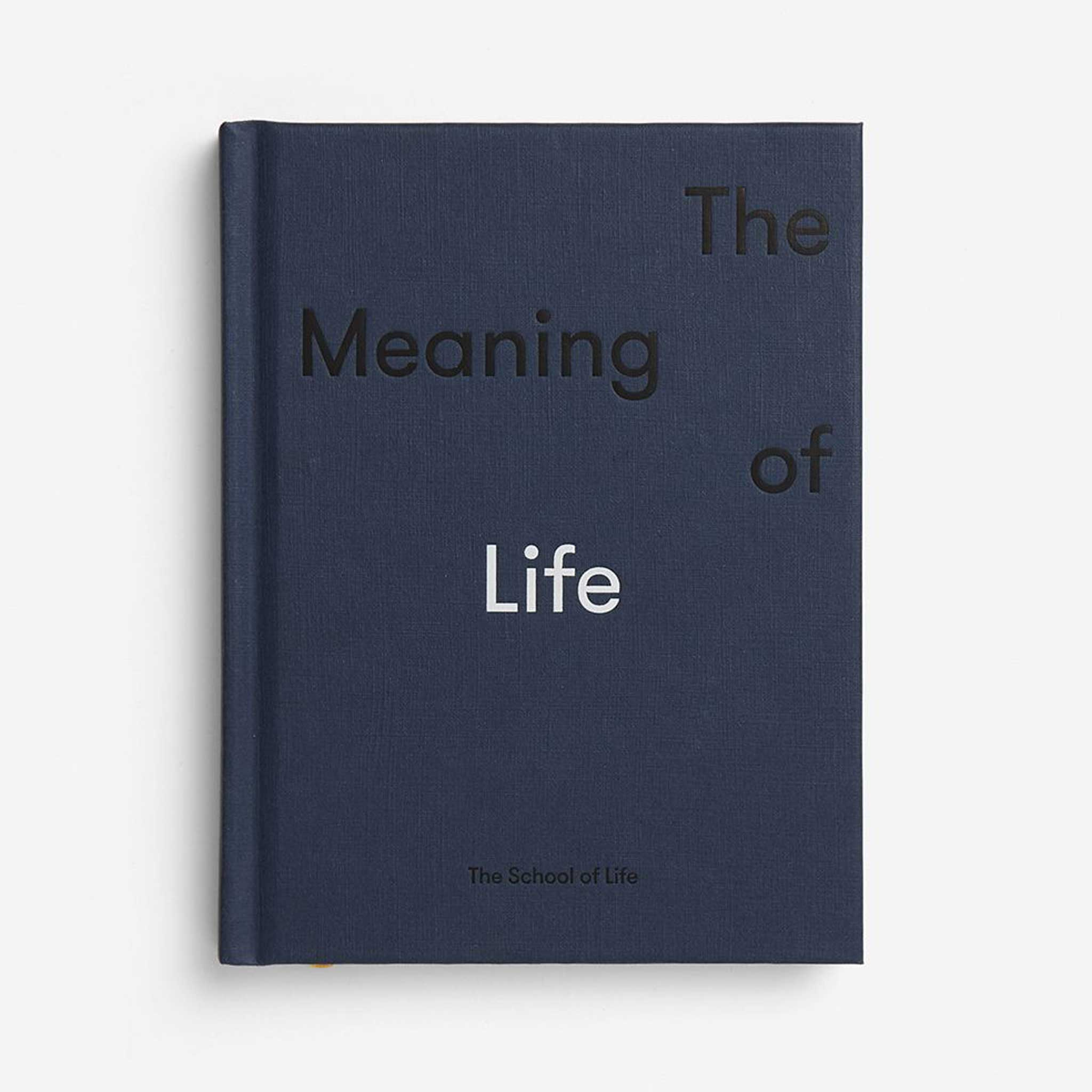 THE MEANING OF LIFE   DER SINN DES LEBENS   BUCH   English Edition   The  School of Life