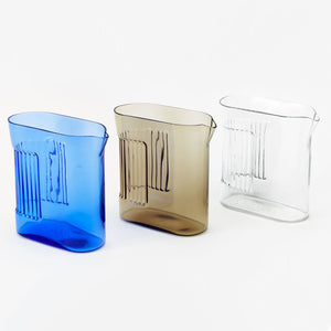 RIDGE KITCHEN PITCHER | GLAS-KARAFFE | Visibiltiy | Areaware - Charles & Marie