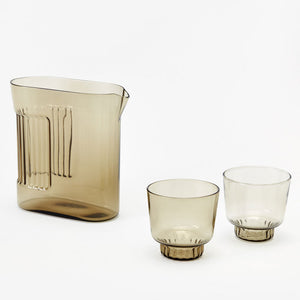 RIDGE KITCHEN PITCHER | GLAS-KARAFFE | Visibiltiy | Areaware