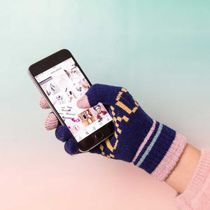 XOXO | Ladies' Touchscreen Smartphone HANDSCHUHE | One Size | talmo - Charles & Marie