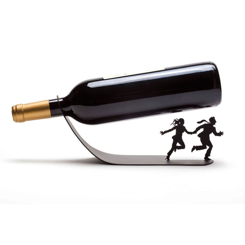 Wine For Your Life Wine Bottle Holder Artori Design Charles Marie S Design Geschenke Shop