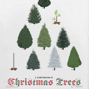 A COMPENDIUM of CHRISTMAS TREES | WEIHNACHTSKARTE | Pop Chart Lab