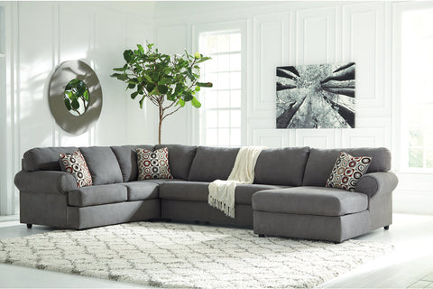 Jayceon Steel Extended Right Facing Chaise End Sectional