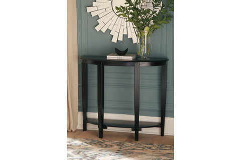 Altonwood Black Sofa Table