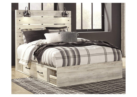 Cambeck Queen Two Side Storage Bed