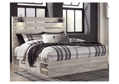 Cambeck King Two Side Storage Bed