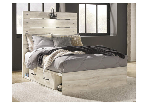Cambeck Full Two Side Storage Bed