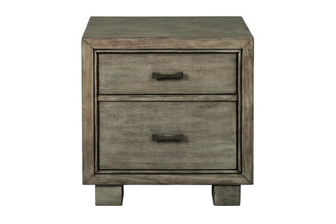 Arnett Gray Nightstand