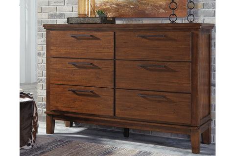 Ralene Medium Brown Dresser