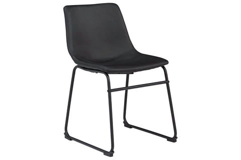 Centiar Black Dining Chair (Set of 2)
