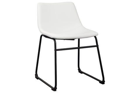 Centiar White Dining Chair (Set of 2)