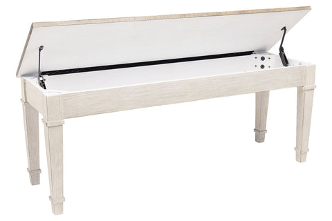 Skempton Storage Bench