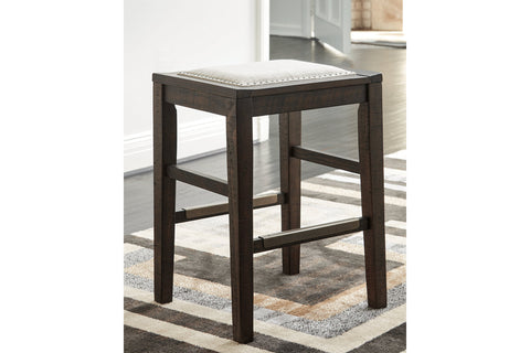 Hallishaw Dark Brown Bar Stool