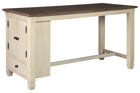 Bolanburg Two-Tone Counter Table