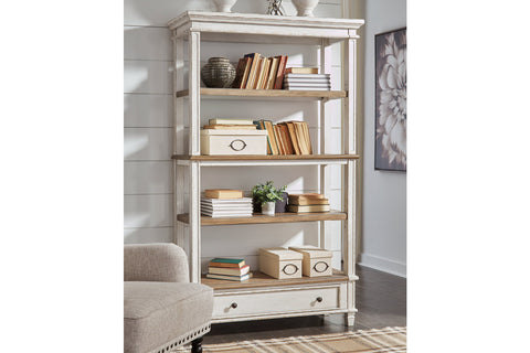 Realyn Brown 75 Bookcase