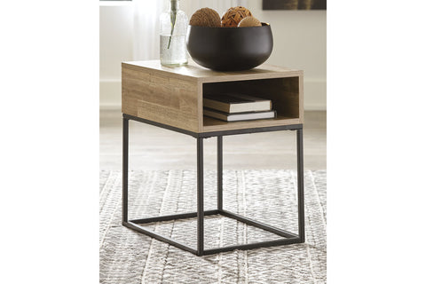 Gerdanet Natural End Table