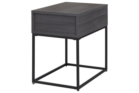 Yarlow Black End Table