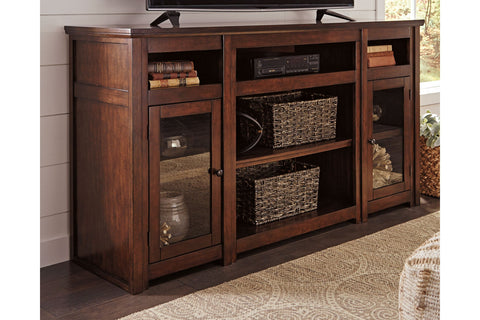Harpan Reddish Brown Extra Large TV Stand