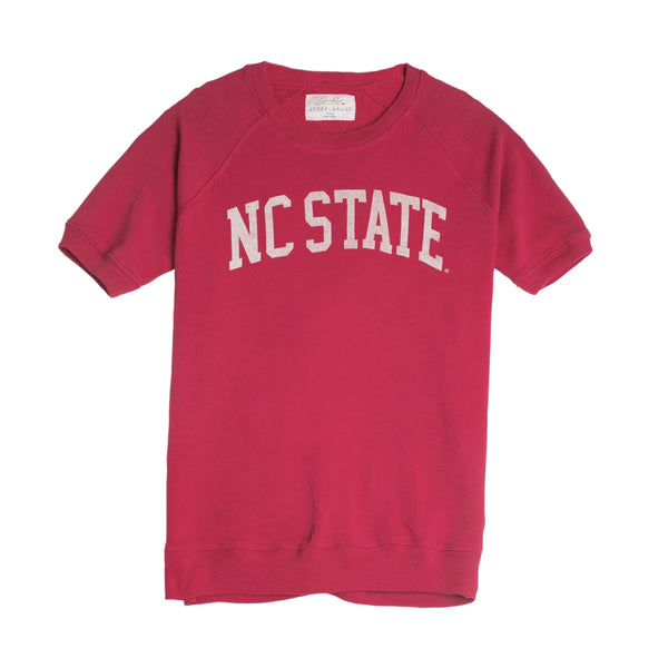 NC State Dottie Short Sleeve Pullover