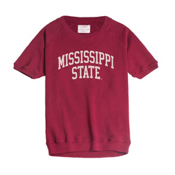 Mississippi State Dottie Short Sleeve Pullover