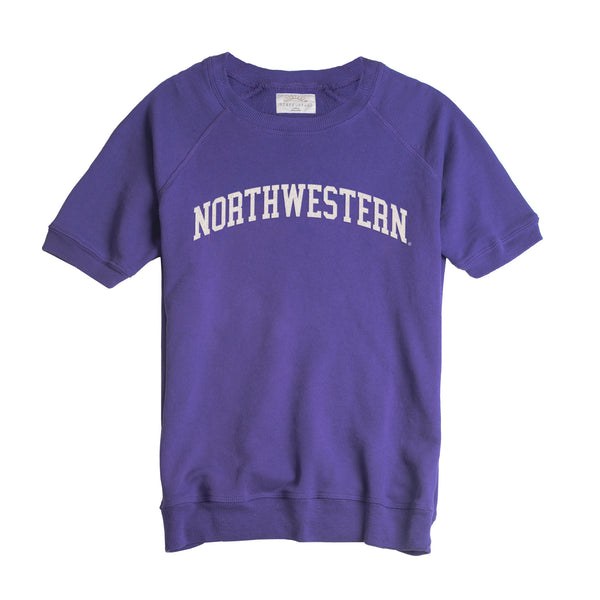 Northwestern Dottie Short Sleeve Pullover