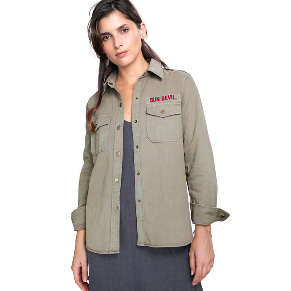 Stanford Jenny's Military Jacket