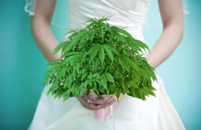 What's Up with Cannabis Weddings?