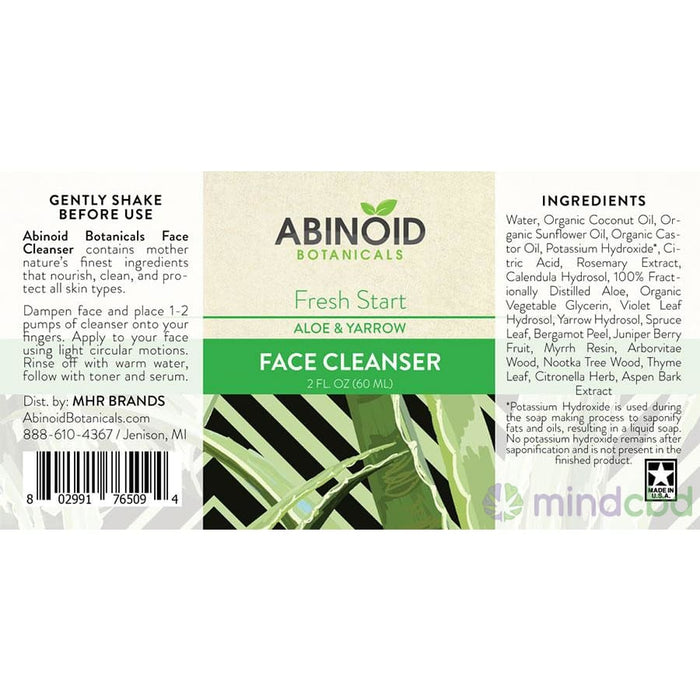Abinoid Botanicals - Face Cleanser - Skincare