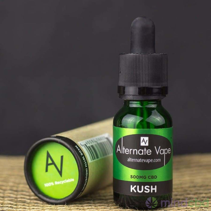 Alternate Vape Cbd Vape Oil 15Ml (500Mg Cbd) - Vape Juice