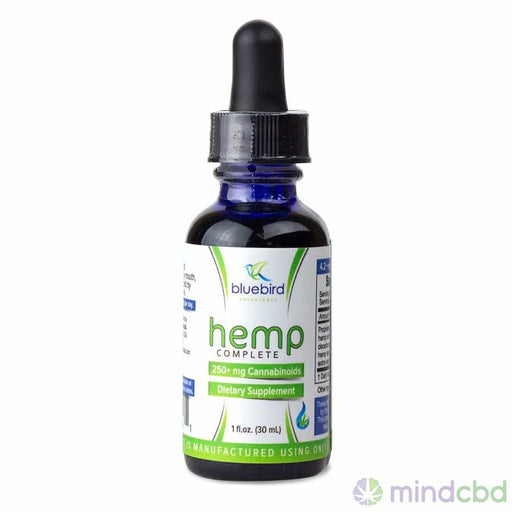 Bluebird Botanicals Hemp Complete Tincture - Cbd Oil