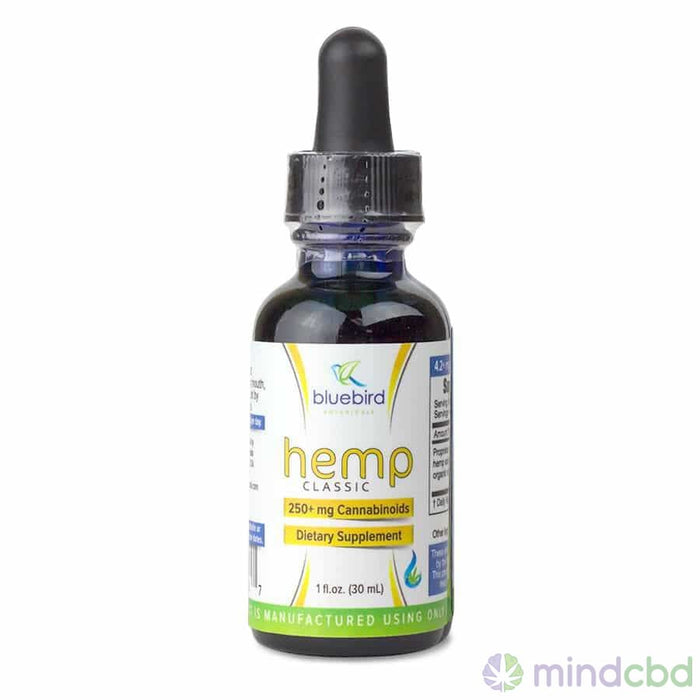 Bluebird Botanicals Hemp Oil Drops - Cbd Oil