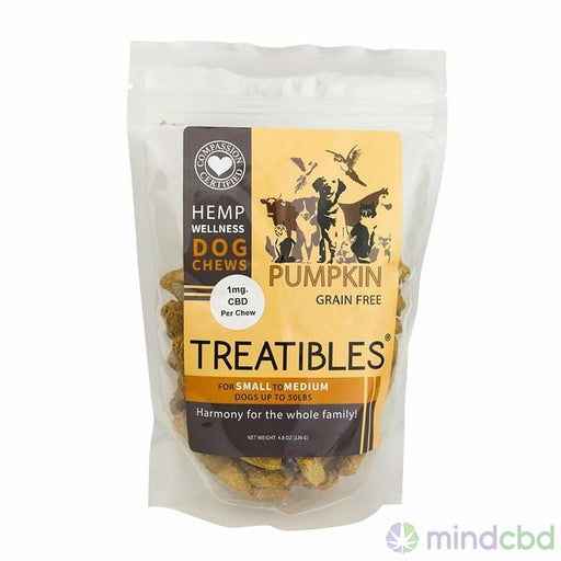 Cbd Dog Treat Chews | Treatibles - Pet