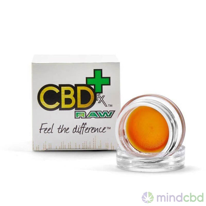Cbdfx - Raw Cbd Wax Dab - Dabbable Cbd
