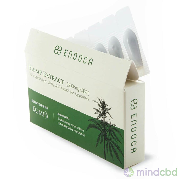 Endoca - Hemp Extract Suppositories - Suppository