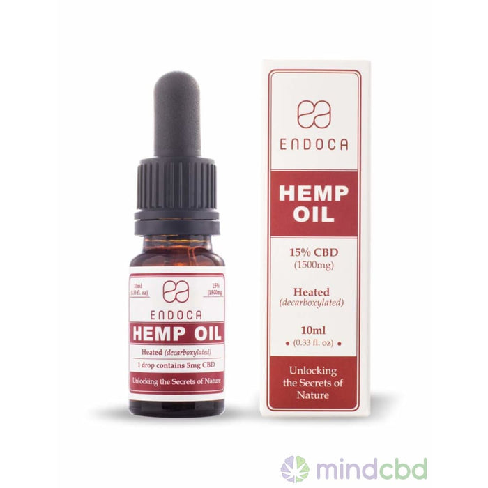 Endoca Hemp Oil Drops (1500Mg Cbd) - Cbd Oil