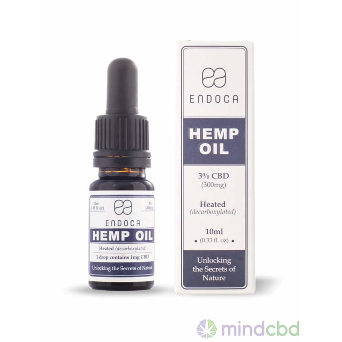 Endoca Hemp Oil Drops (300Mg Cbd) - Cbd Oil