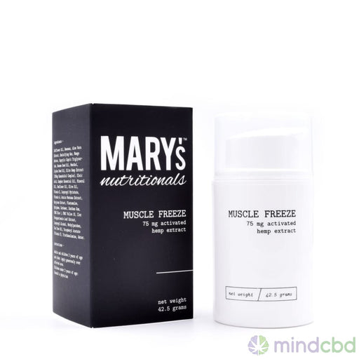 Marys Nutritionals - Mini Muscle Freeze: Cooling Action - Transdermal