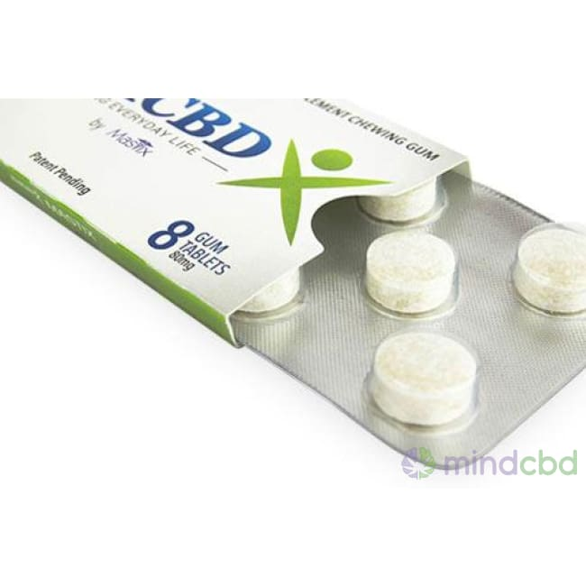 Medcbdx - Cbd Gum 8-Pack - Edible