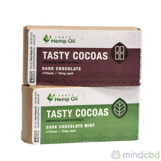 Tasty Hemp Oil Tasty Cocoas Hemp Chocolate (10Mg Cbd Each) - Cbd Oil