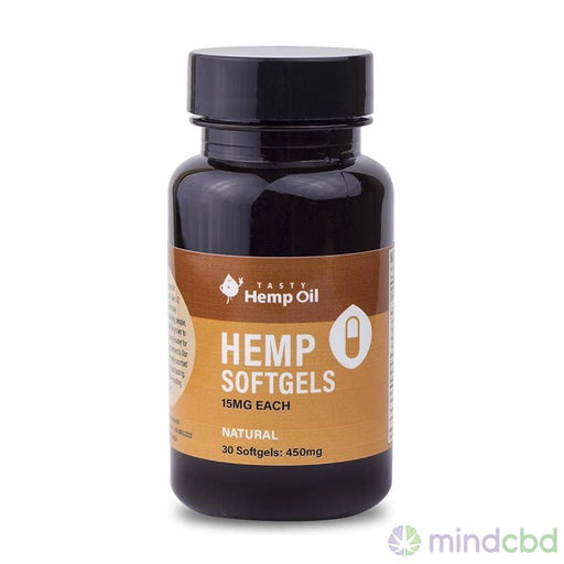 Tasty Hemp Oil Hemp Softgels - Cbd Oil
