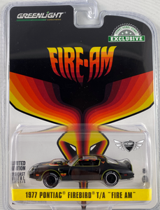 "1977 Pontiac Firebird T/A ""Fire Am"" Greenlight"
