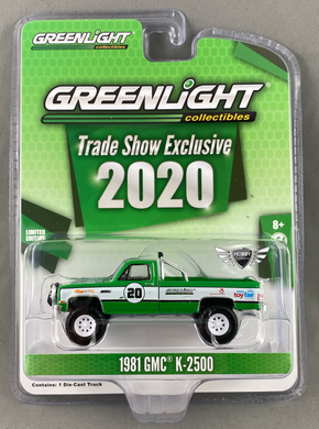 1981 GMC K-2500 Trade Show Exclusives 2020 Greenlight
