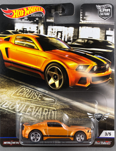 2014 Custom Mustang CRUISE BOULVARD Hot Wheels Car Culture #3