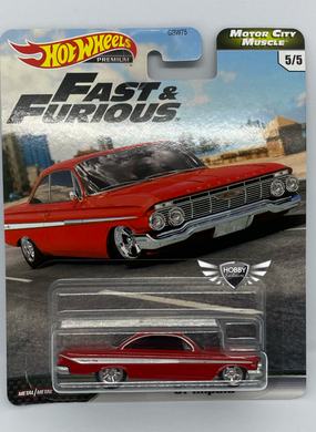 61 Impala FAST & FURIOUS Motor City Muscle Hot Wheels #5