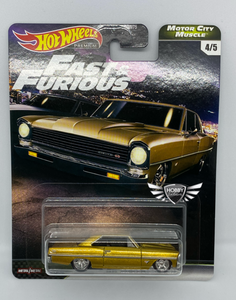 66 Chevy Nova FAST & FURIOUS Motor City Muscle Hot Wheels #4