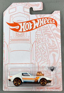 68 Corvette Gas Monkey Garage Pearl & Chrome Hot Wheels #5