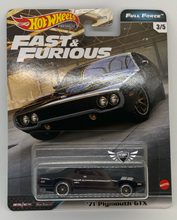 Load image into Gallery viewer, 71 Plymouth GTX FAST & FURIOUS Full Force #3