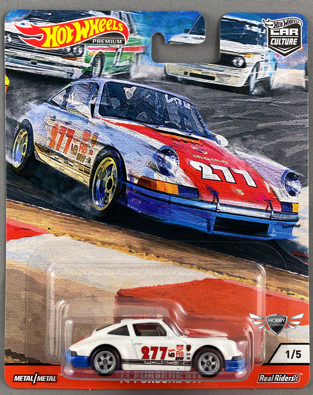 71 Porsche 911 Door Slammers Hot Wheels Car Culture #1