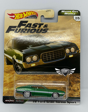 72 Ford Gran Torino Sport FAST & FURIOUS Motor City Muscle Hot Wheels #2