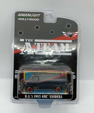 B.A. 's 1983 GMC Vandura THE A TEAM Greenlight Hollywood 1:64 Scale
